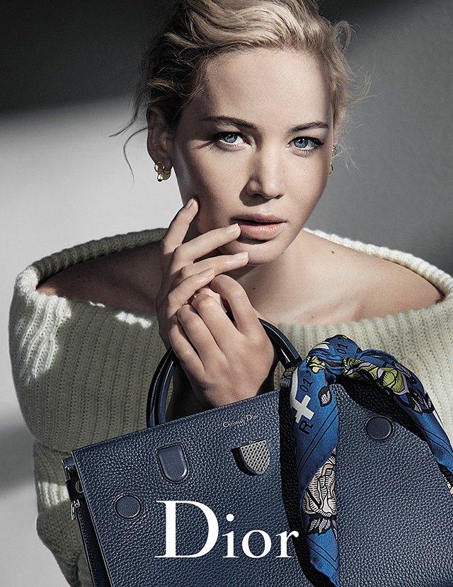 Дженнифер Лоуренс в рекламной кампании Dior осень-зима 2016-2017 фото №2