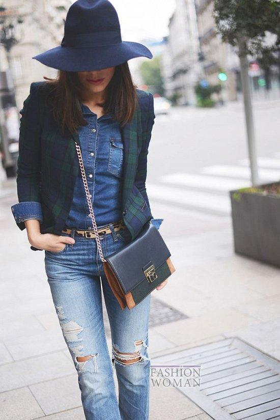 Джинсовая рубашка. С чем носить? фото №27