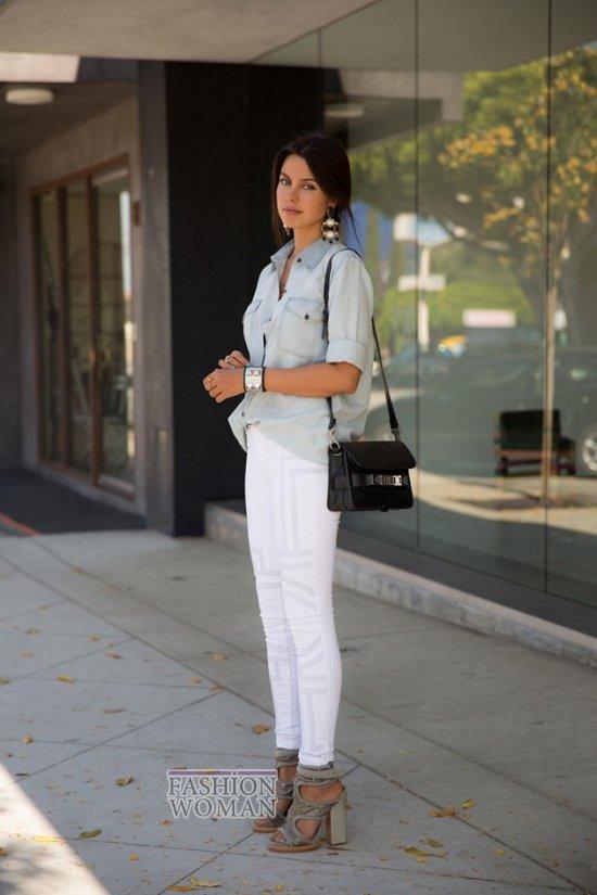Джинсовая рубашка. С чем носить? фото №33