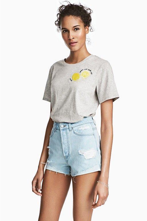 Джинсовые шорты с завышенной талией. С чем носить? фото №17