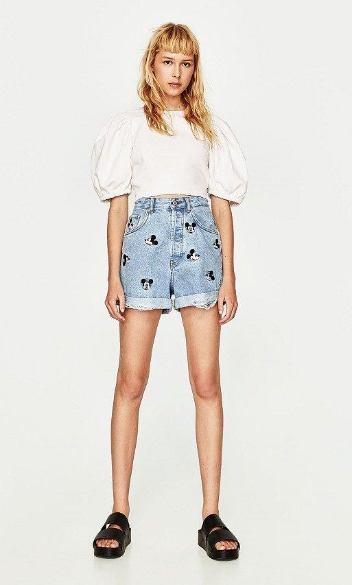 Джинсовые шорты с завышенной талией. С чем носить? фото №21