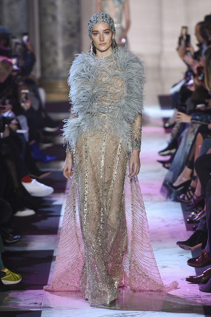 Коллекция Elie Saab Haute Couture весна-лето 2018