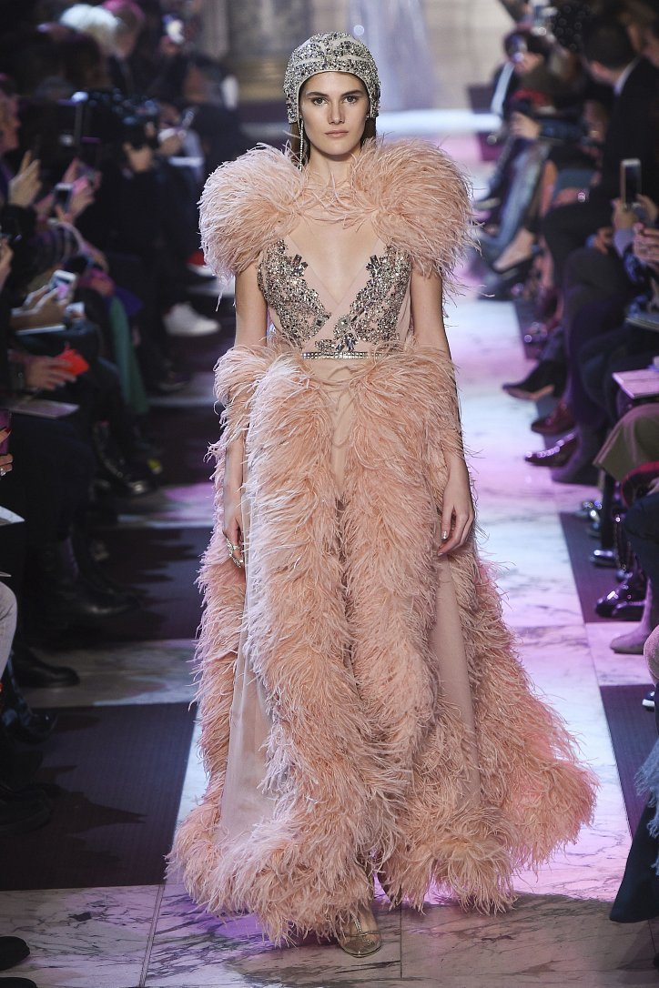 Elie Saab Haute Couture весна-лето 2018 фото №10
