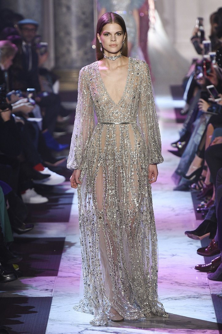 Elie Saab Haute Couture весна-лето 2018 фото №12
