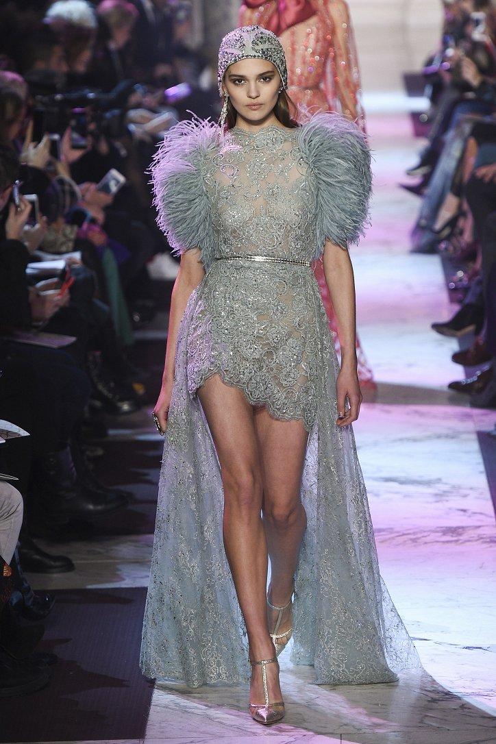 Elie Saab Haute Couture весна-лето 2018 фото №13