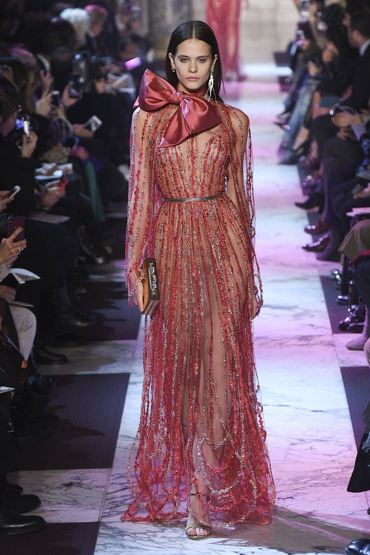 Elie Saab Haute Couture весна-лето 2018 фото №14