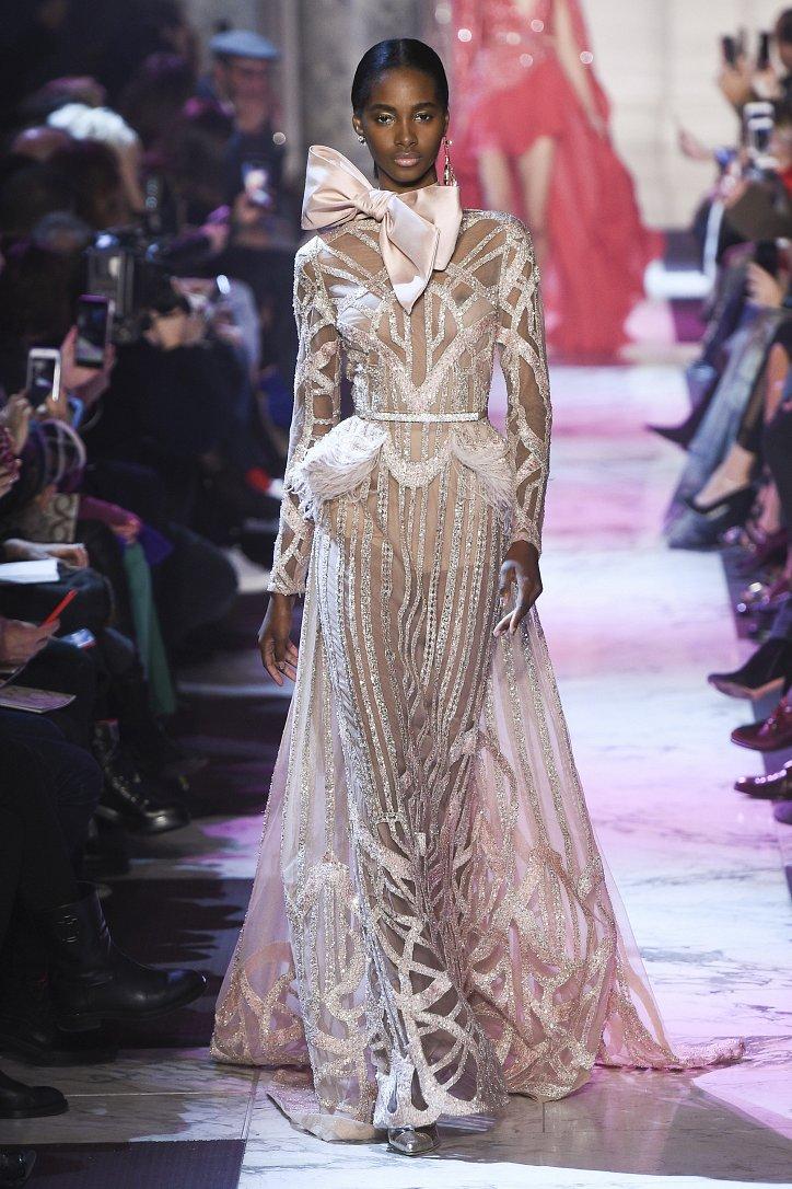 Elie Saab Haute Couture весна-лето 2018 фото №20