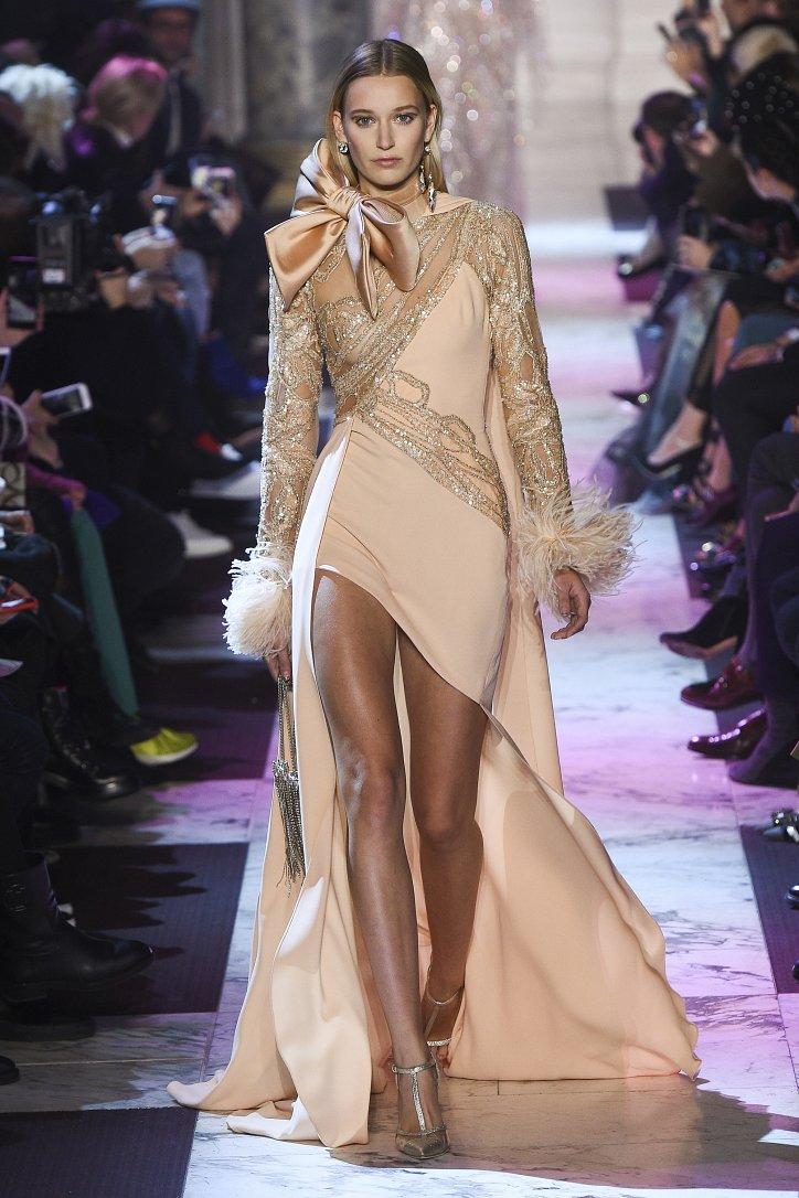 Elie Saab Haute Couture весна-лето 2018 фото №28