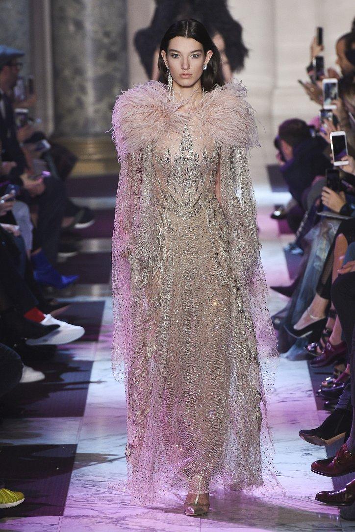 Elie Saab Haute Couture весна-лето 2018 фото №29