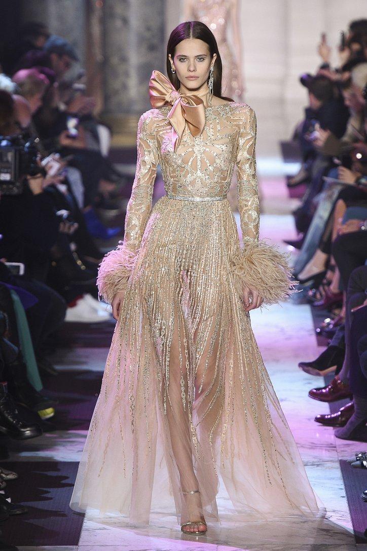 Elie Saab Haute Couture весна-лето 2018 фото №43