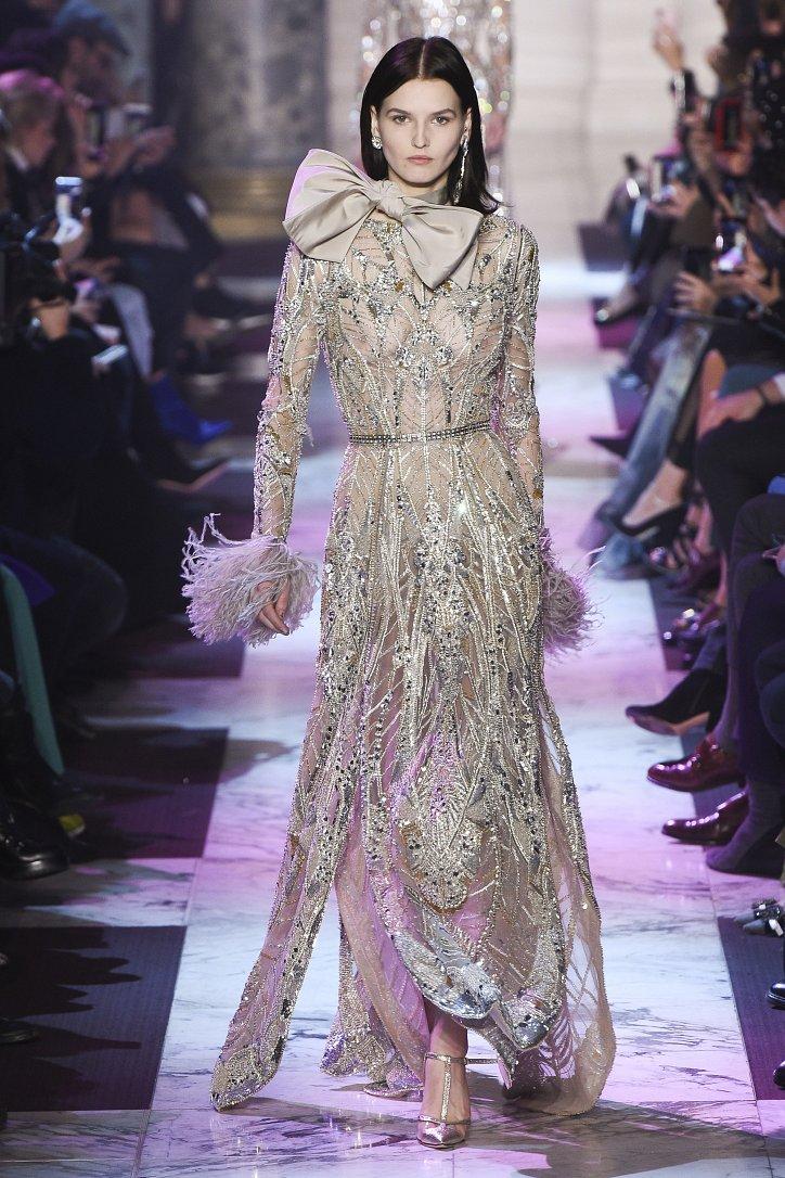 Elie Saab Haute Couture весна-лето 2018 фото №47