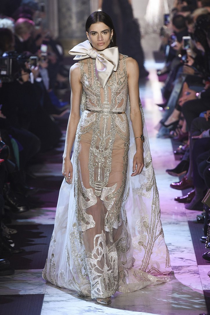Elie Saab Haute Couture весна-лето 2018 фото №52