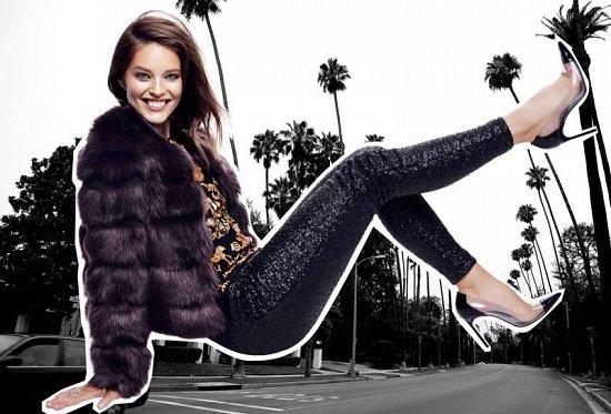 Эмили Дидонато в праздничном лукбуке Juicy Couture Holiday 2014  фото №8