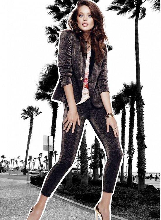Эмили Дидонато в праздничном лукбуке Juicy Couture Holiday 2014  фото №3