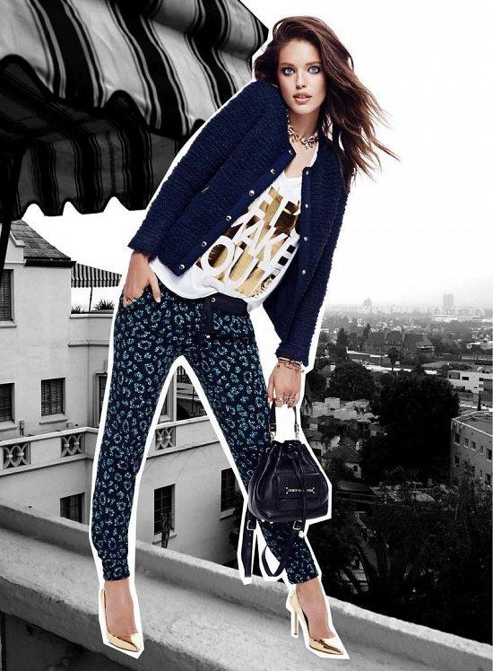 Эмили Дидонато в праздничном лукбуке Juicy Couture Holiday 2014  фото №4