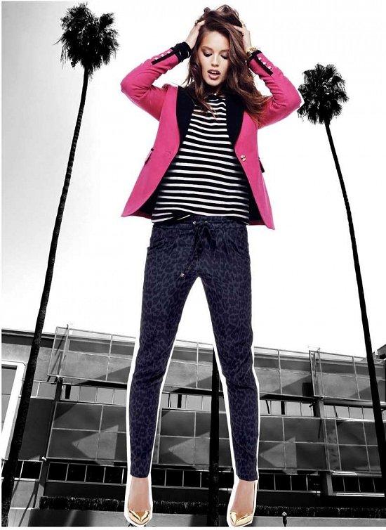 Эмили Дидонато в праздничном лукбуке Juicy Couture Holiday 2014  фото №5