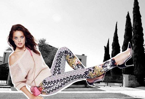 Эмили Дидонато в праздничном лукбуке Juicy Couture Holiday 2014  фото №7