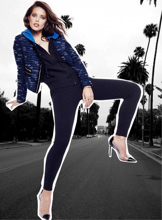 Эмили Дидонато в праздничном лукбуке Juicy Couture Holiday 2014  фото №6