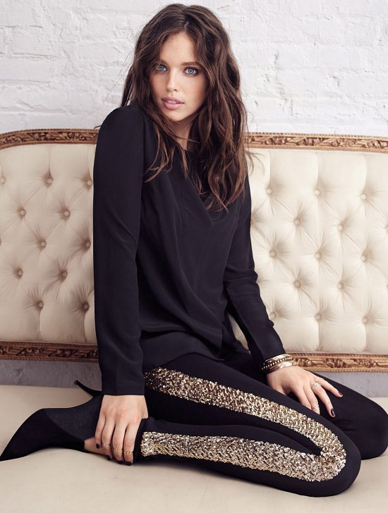 Эмили Дидонато в рекламной кампании Calzedonia фото №12