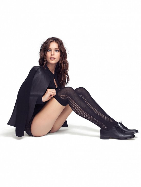 Эмили Дидонато в рекламной кампании Calzedonia фото №21