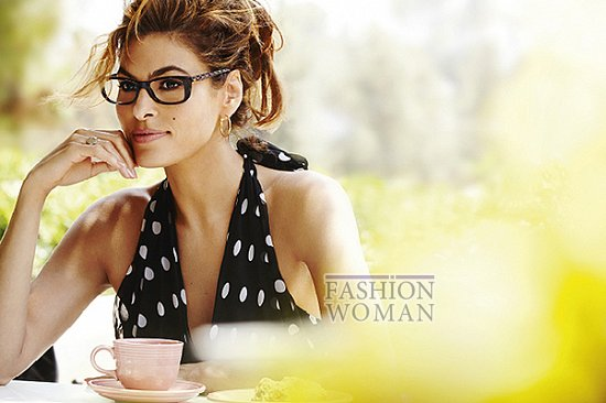 Ева Мендес в рекламе линии очков Vogue Eyewear фото №4