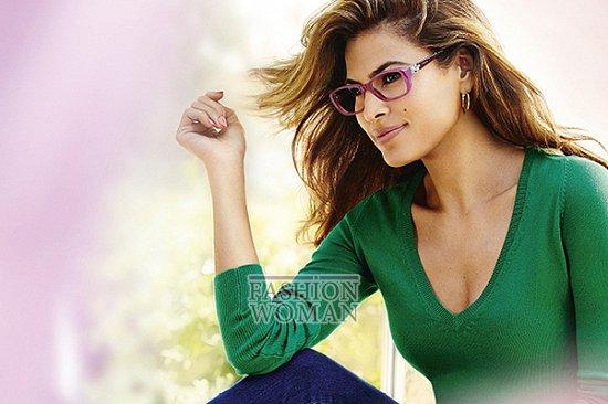 Ева Мендес в рекламе линии очков Vogue Eyewear фото №5