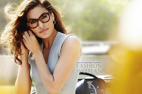 Ева Мендес в рекламе линии очков Vogue Eyewear фото №6