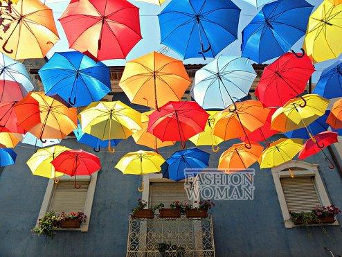 Фестиваль зонтиков в Португалии фото №4