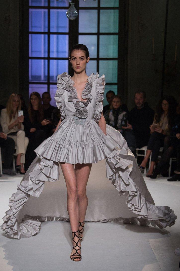Giambattista Valli Haute Couture весна 2017 фото №26