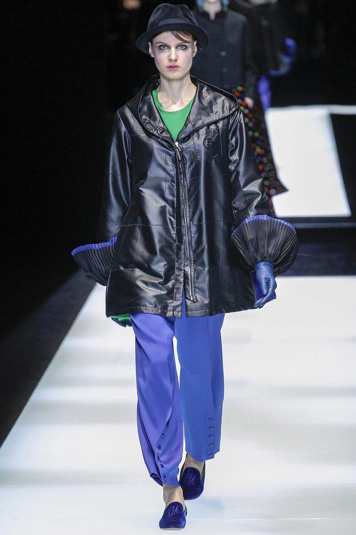 Giorgio Armani осень-зима 2017-2018 фото №37