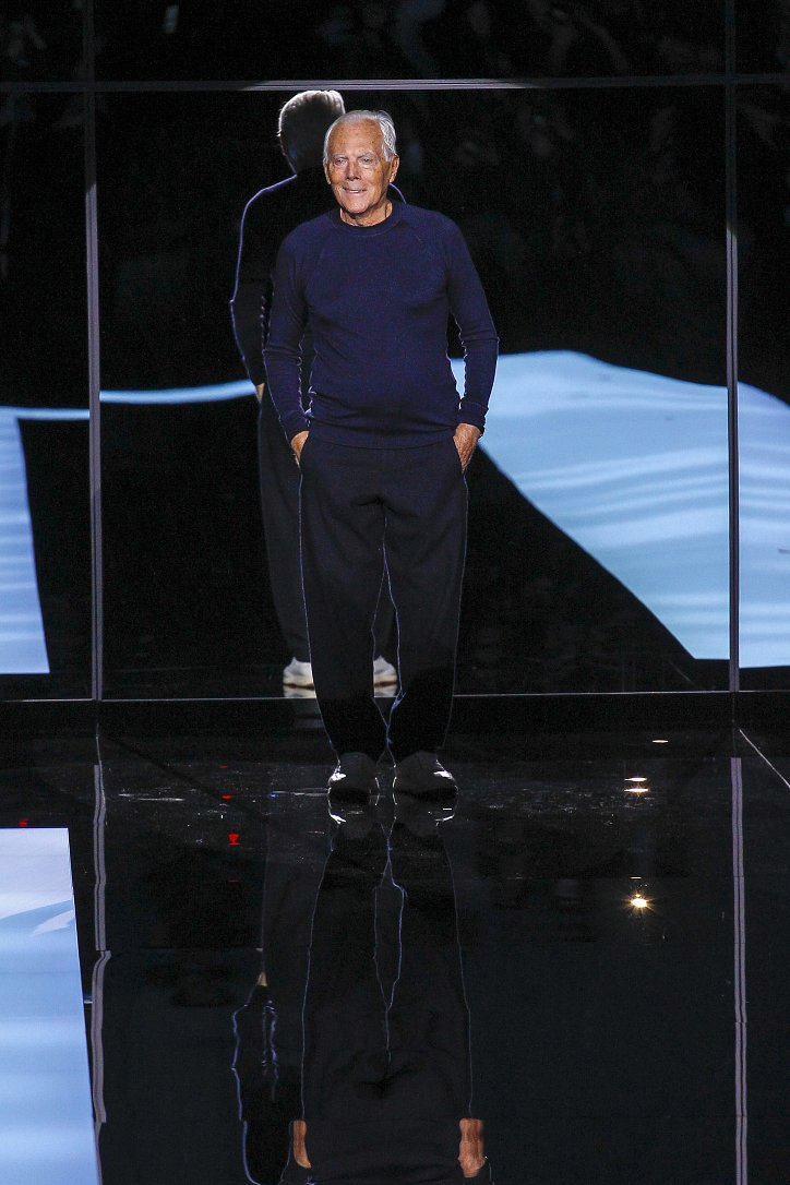 Giorgio Armani осень-зима 2017-2018 фото №82