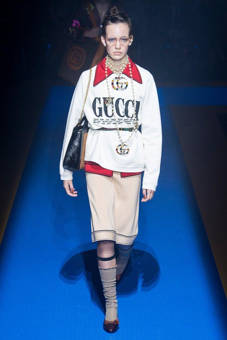 Gucci весна-лето 2018 фото №6