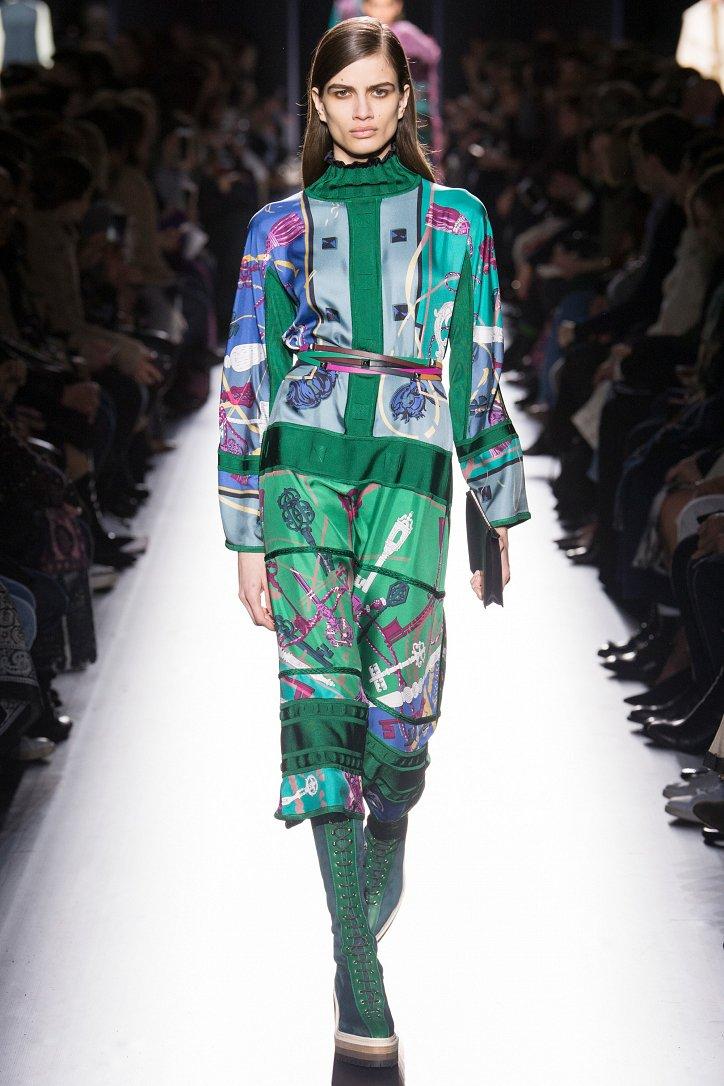 Hermès осень-зима 2017-2018 фото №30