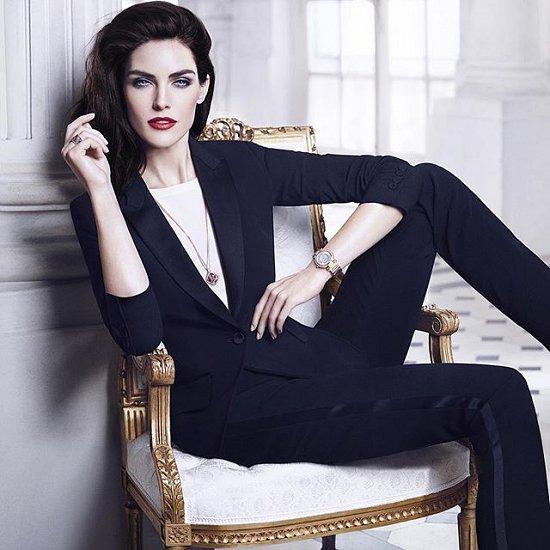 Хилари Рода в рекламной кампании ювелирных украшений Chopard фото №5