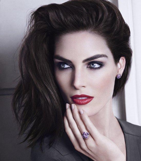 Хилари Рода в рекламной кампании ювелирных украшения Chopard