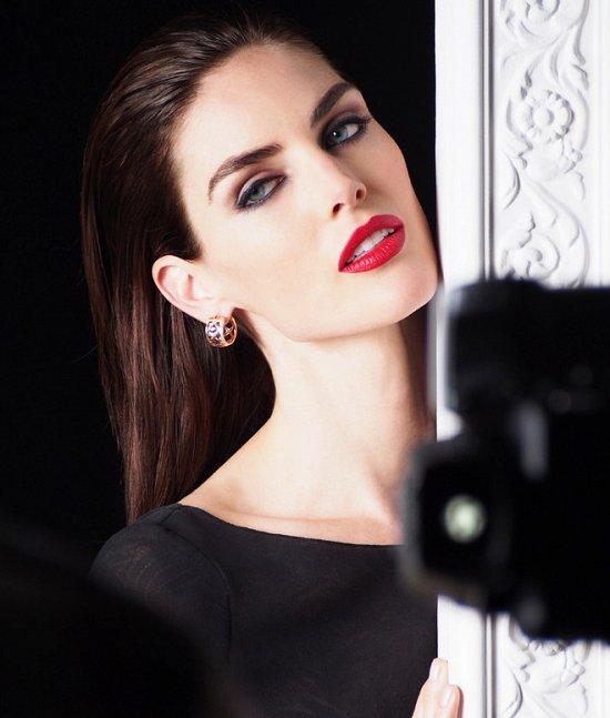 Хилари Рода в рекламной кампании ювелирных украшений Chopard фото №3