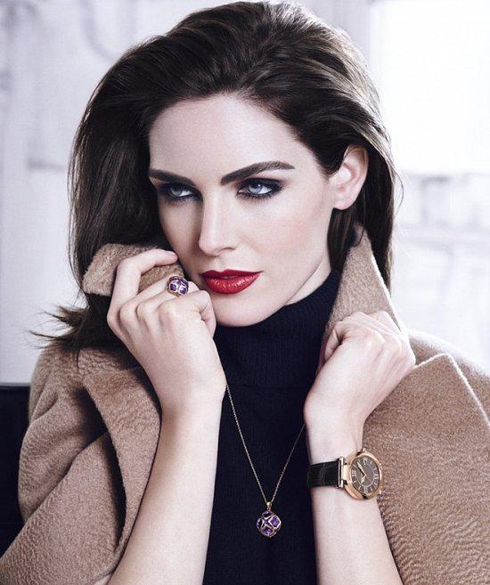 Хилари Рода в рекламной кампании ювелирных украшений Chopard фото №4