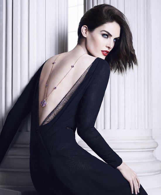 Хилари Рода в рекламной кампании ювелирных украшений Chopard фото №6