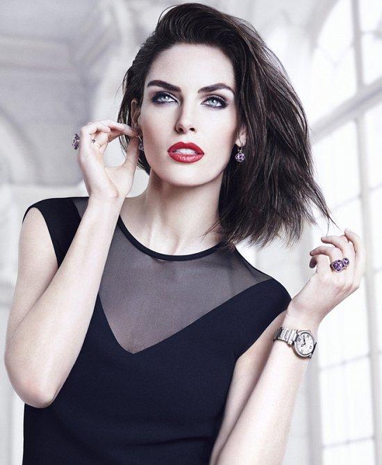 Хилари Рода в рекламной кампании ювелирных украшений Chopard фото №7