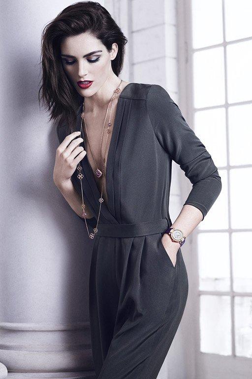 Хилари Рода в рекламной кампании ювелирных украшений Chopard фото №9