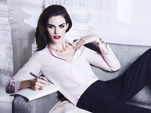 Хилари Рода в рекламной кампании ювелирных украшений Chopard фото №10