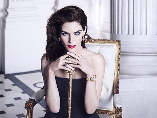 Хилари Рода в рекламной кампании ювелирных украшений Chopard фото №11
