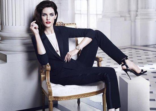 Хилари Рода в рекламной кампании ювелирных украшений Chopard фото №8