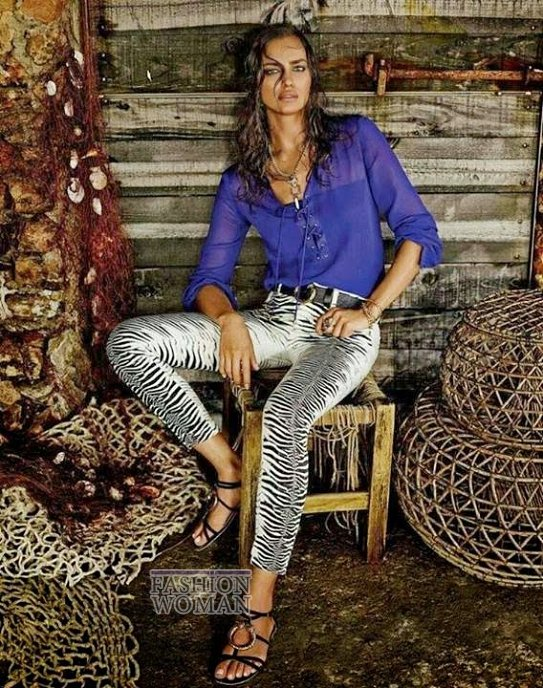 Irina Shayk в рекламной кампании Roberto Cavalli for C фото №4