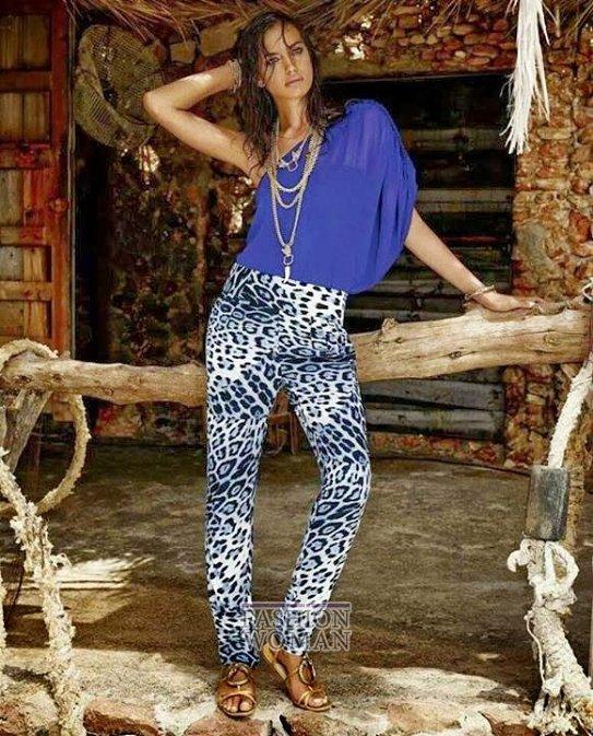Irina Shayk в рекламной кампании Roberto Cavalli for C фото №6