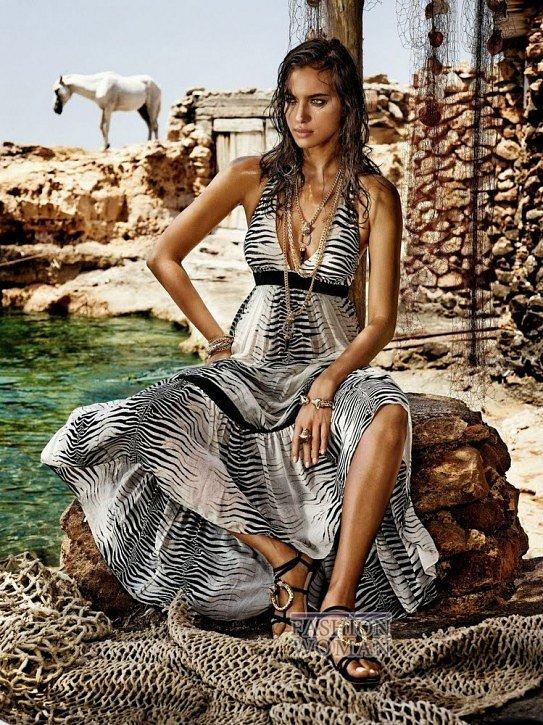 Irina Shayk в рекламной кампании Roberto Cavalli for C фото №7