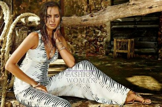 Irina Shayk в рекламной кампании Roberto Cavalli for C фото №10