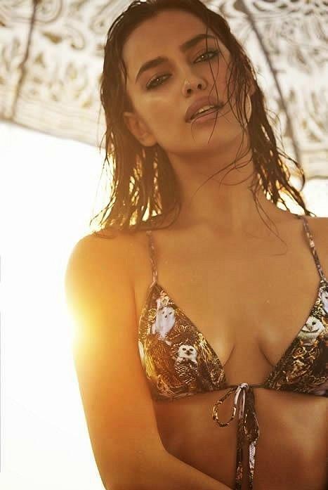 Ирина Шейк в лукбуке купальников Agua Bendita 2015  фото №20