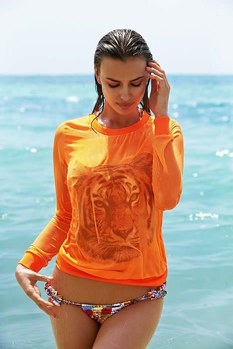 Ирина Шейк в лукбуке купальников Agua Bendita 2015  фото №31