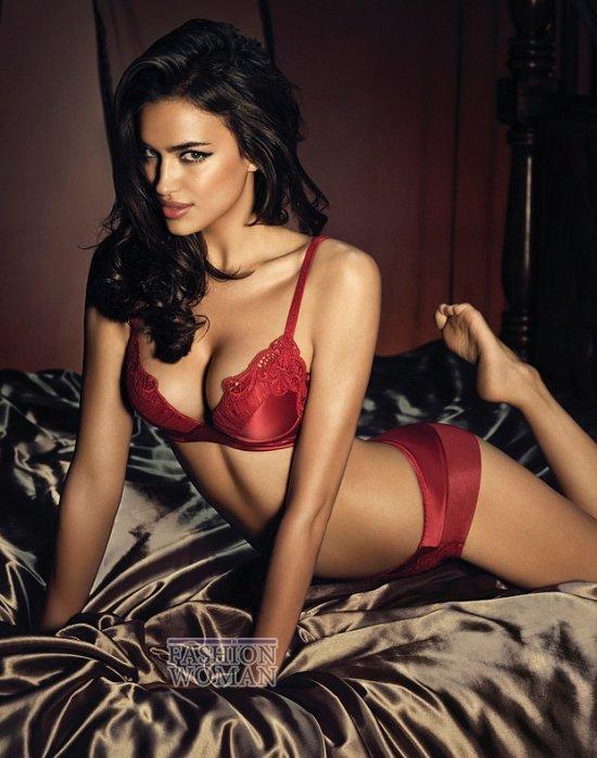 Ирина Шейк в рекламе нижнего белье La Clover  фото №1